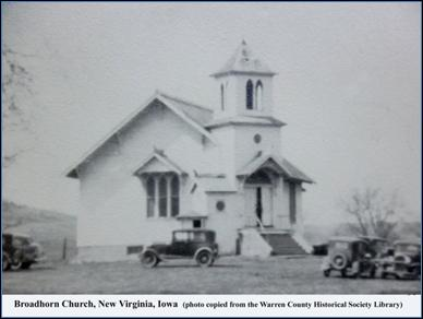 Historic Iowa County Chapel That Was >> Broadhorn